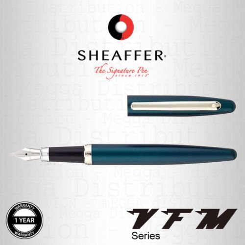 Color:Turquesa con chapado niquelado de cromo.Acabado:Mate/satén -Este bolígrafo ofrece gran calidad y es una de las líneas más vendidas de Sheaffer. Descripción del producto:La colección de Sheaffer es vibrante, divertida y moderna, y está dedicada ...