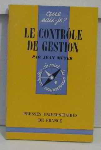 Controle de Gestion (le)
