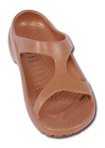 Aruba - ultraleichter und modischer Bequemschuh für Damen und Herren Copper