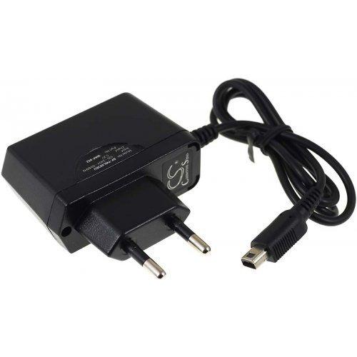 Powery Premium Netzteil für Nintendo DSI LL, 100-240V