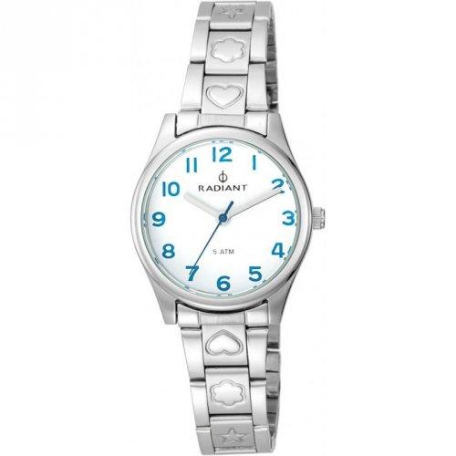 Radiant Uhr-Silber-Stahl RA387203 Mädchen Kommunion
