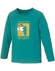 Trango Eyes Us - Camiseta para niño de 8 años, color verde lago