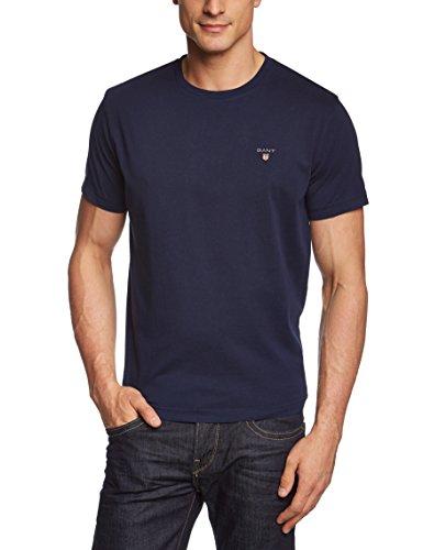 GANT Men's The Original Solid Short Sleeve Crew Neck T-Shirt