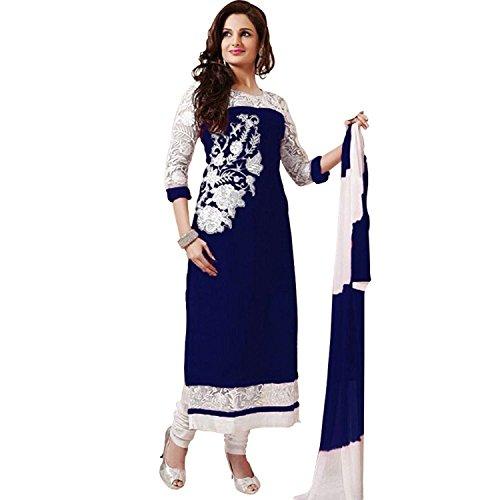 Manav Fashion Retail Cotton Printed Semi-stitched Salwar Suit Dupatta Material