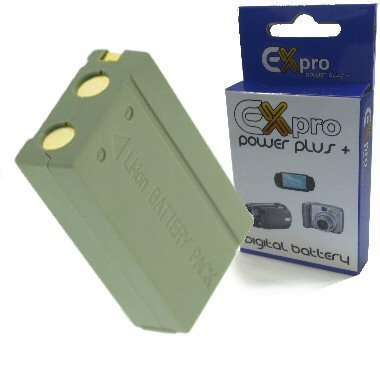 Ex-Pro Samsung SLB-1437 SLB-1437, High Power Plus+ 2 Year Warranty Replacement Lithium Li-on Digital Camera Battery for Samsung Digimax :- V3, V4, V5, V6, V7, V40, V50, V70, V4000,