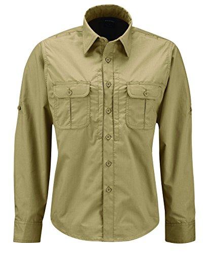 PROPPER Damen Kinetic Long Sleeve Shirt, damen, khaki (Propper Tactical Shirt)