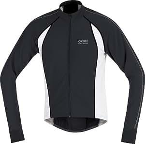Gore Men's Oxygen Thermo Jersey - Black/White/Black, XX-Large