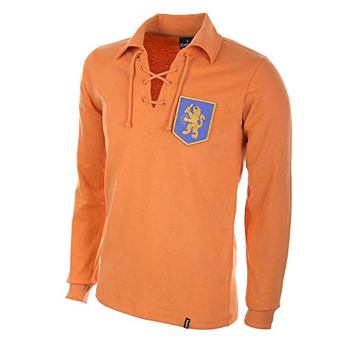 COPA Football - Camiseta Retro Holanda años 1950 (S)