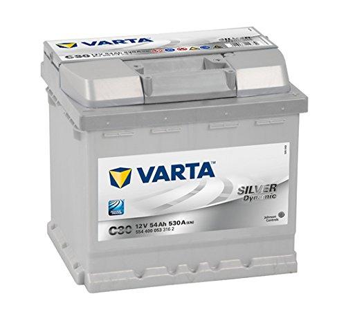 VARTA Silver Dynamic C30 Autobatterie 12V 54Ah 530A