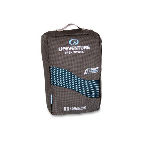 LifeVenture SoftFibre AXP Trek X Large Trek Towel - Blue - One Size