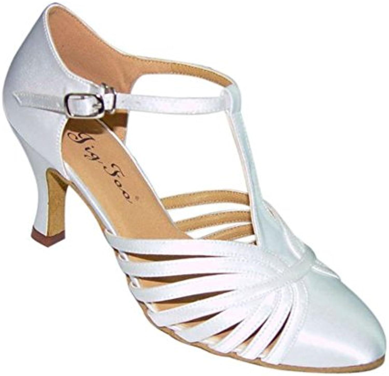 Ballo liscio scarpe da donna punta scarpa danc vincolante Scarpe da ballo online alla fine del soft   Vinci molto apprezzato    Scolaro/Signora Scarpa