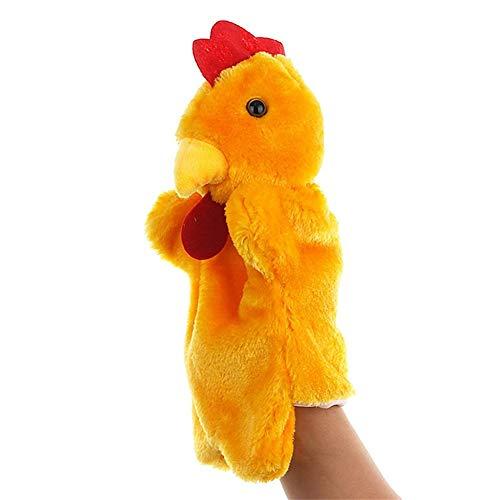 Los niños pequeños juguetes aliento u gallina gallo