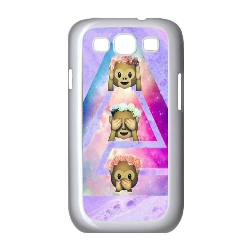 High Quality Cover Case for Samsung Galaxy S3 I9300,Custom Chinese Cute Monkey Cell Phone Case ()