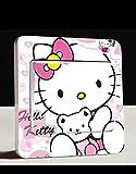 Hello Kitty Lichtschalter Wandsticker selbstklebend Kinder Aufkleber Hello Kitty Cartoon Motiv Deko Schalter- CartoonPrintDesign - L028