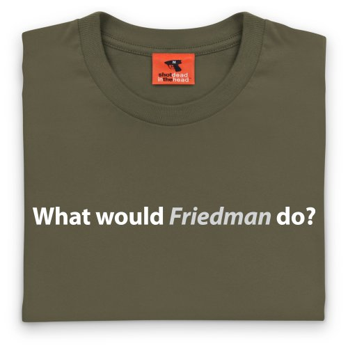 Square Mile Friedman T-Shirt, Herren Olivgrn