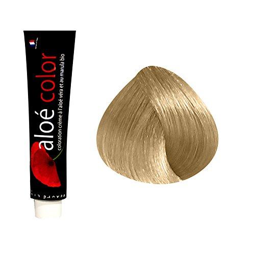 Beautélive Coloration crème à l'aloé véra et au marula Supers Éclaircissant, 903S : Très Blond Doré Clair Avec ammoniaque, 100ml