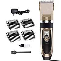XWDQ Hair Clipper Professional Hair Clipper Adult Baby Electric Fader Rechargeable Hair Clipper Ultra Silent Electric Shaver