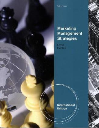 Marketing Management Strategies, International Edition (Ferrell Marketing-strategie)