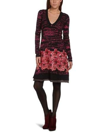 Desigual Stracciatella Women's Dress Fresa 8