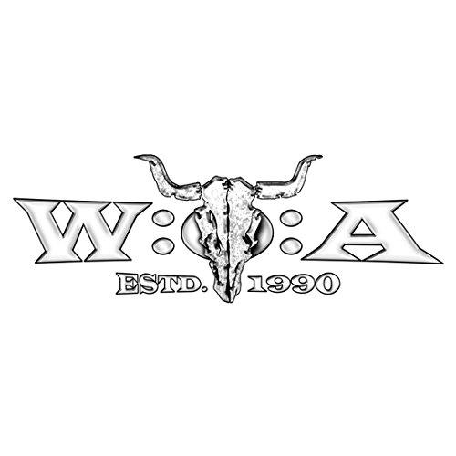 Preisvergleich Produktbild W:O:A – Wacken Open Air Heckscheibenaufkleber