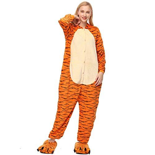 Fancyland Stitch Kostüm,Jumpsuit Tier Cartoon Fasching Halloween Kostüm-Anzug Onesie Fleece-Overall ()