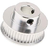 FLAMEER 40 Dientes GT2 Correa Dentada Polea de Aleación de Aluminio 3D Impresora - diámetro 8mm