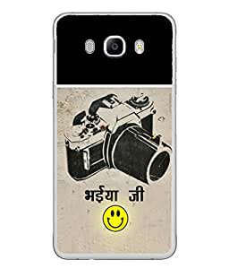 PrintVisa Vintage Camera With Wording High Gloss Designer Back Case Cover for Samsung Galaxy J7 (6) 2016 :: Samsung Galaxy J7 2016 Duos :: Samsung Galaxy J7 2016 J710F J710Fn J710M J710H