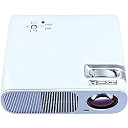 mileagea LED LCD Projector 2600 Lúmenes HD Home Theater