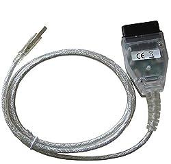 NewL INPA K+CAN K+DCAN Kfz-Diagnosegerät Kabel OBD USB Interface für BMW R56 E87 E93 E70