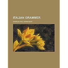 Italian Grammer