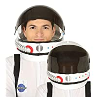 Mens Ladies Astronaut Space Helmet With Visor TV Book Film Movie Halloween Carnival Fancy Dress Costume Hat