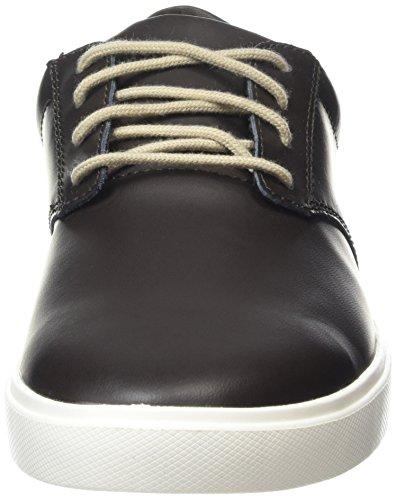 Crocs Citilane Leather Lace Up, Baskets Basses Homme Marron (Espresso/White)