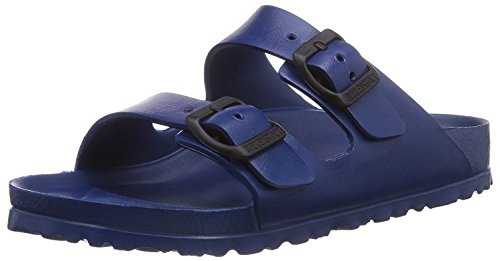 BIRKENSTOCK Unisex Arizona Eva Dual Buckle Sandals, Navy - 36 N EU/5-5.5 2A(N) US (Arizona Womens Sandale)