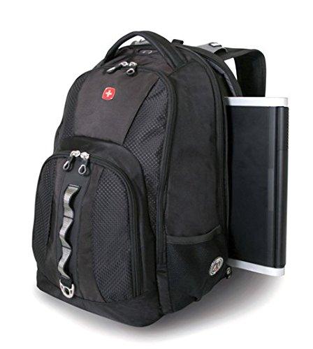 Wenger SA1271 – Mochila para portátil y tablet de 15,4″, color negro