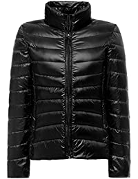 Topgraph Damen Daunenjacke mit Stehkragen Plus Size Ultra Lightweight Coat  Jacke Lightdaune 80822e52e6
