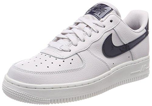 Wmns Air Force 1 07 Mid, Zapatillas Altas para Mujer, Blanco (White/White 100), 36 EU Nike