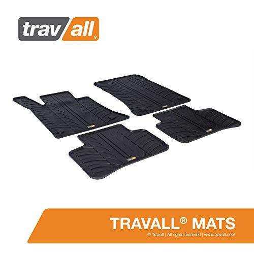 Travall® Mats Gummifußmatten - Original Travall® Zubehör TRM1226 - Allwettermatten nach Maß