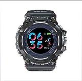 Bblank Herzfrequenz-Sensor Smart Watch Fitness-Tracker-Activity Tracker mit Herzfrequenz-Pedometer Kalorienzähler Stoppuhr SMS-Anruf Wasserdicht IP67