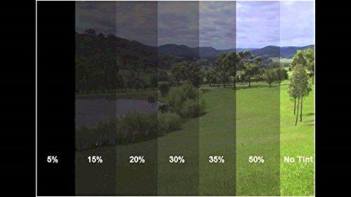 300x76cm 35% B. Scheiben Folie Fensterfolie Sichtschutzfolie Scheibentönung Scheibenfolie Sonnenschutzfolie
