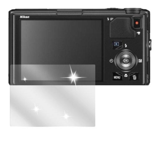 dipos I 6X Schutzfolie klar passend für Nikon Coolpix S9500 Folie Displayschutzfolie (Coolpix Kamera S9500 Nikon)
