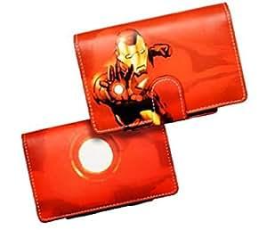BigBen Interactive DSI FLIP & PLAY Ironman Protector CASE - RED Rangement Console compatible Nintendo DSi