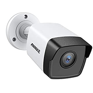 ANNKE POE IP Camera 5mp Super HD Home Security Camera, Bullet Outdoor Indoor Video Surveillance Camera, Support IP67 Weatherproof ,100ft Night Vision, Onvif Compliant, Motion Detection