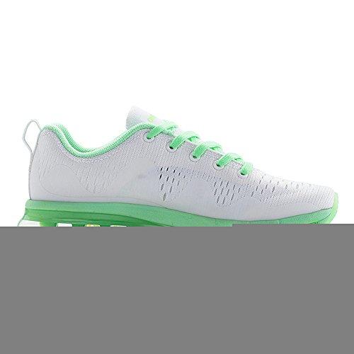 Onemix Air Scarpe da Ginnastica Corsa Basse Uomo Donna Sportive Running Sneakers Verde chiaro