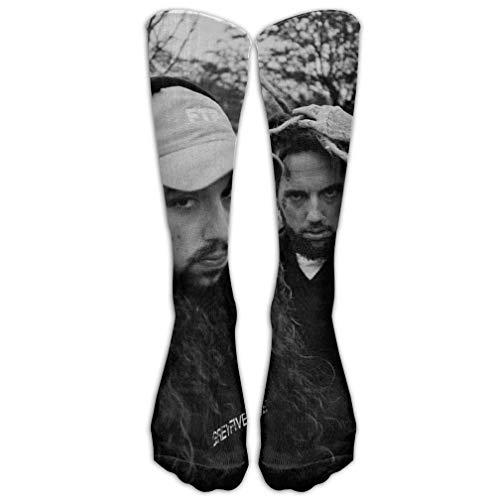uytrgh Einzigartiges Unisex-Design Handmaids Tale Kostüm mit Kapuze Mantel Cape Bonnet Crossover Socken 78% Baumwolle / 20% Nylon / 2% (Lustige Kostüm Zum Verkauf)