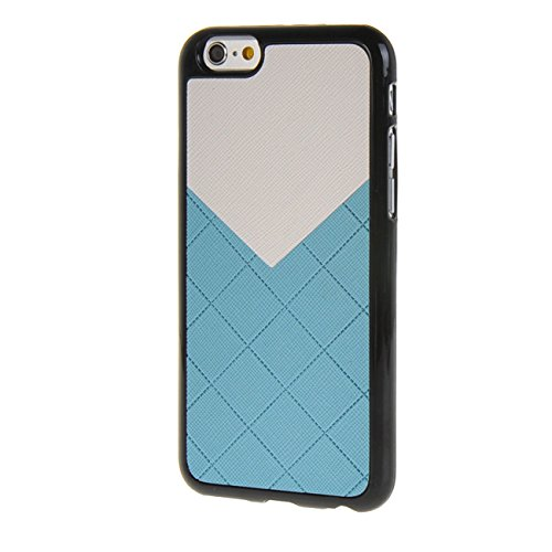 MOONCASE New Style Gel TPU Silicone Housse Coque Etui Case Cover pour Apple iPhone 6 ( 4.7 inch ) Rose Bleu