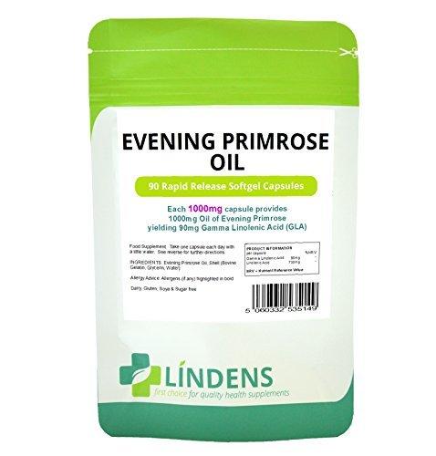 Lindens - olio di enotera 1000mg Capsule - 90 Pack