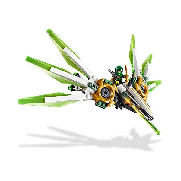 LEGO NINJAGO IlMechTitanodiLloyd, Figura d'Azione, Playset Maestri dello Spinjitzu, 70676 4 spesavip
