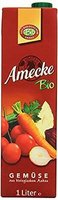 Amecke Bio Gemüse - 100%, 6er Pack (6 x 1 l)