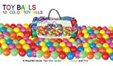 Pack Of 100 Bright Color Ball Pit Balls ...