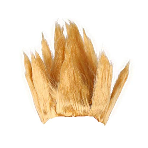 Gold Schwarz Blau Rot Braun Anime Dragon Ball Goku Cosplay Perücke Dragonball Z Goldenes Haar,Flamme Berg Perücke Halloween Kostüm Cosplay Wig By - Halloween Goku Kostüm